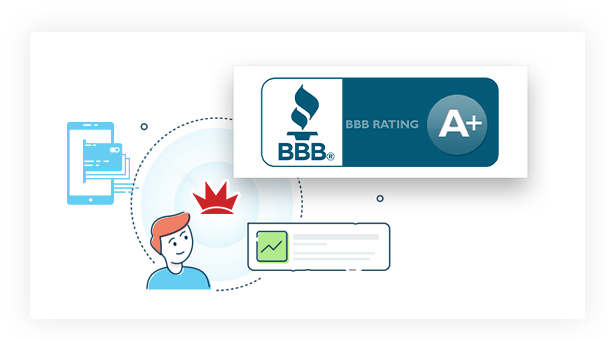 Crown Merchants has an A+ rating from the Better Business Bureau.